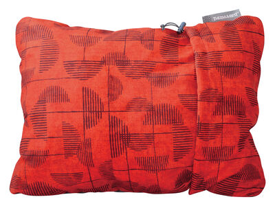 COMPRESSIBLE PILLOW RED