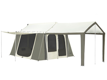 KODIAK 12 x 9 FT. CABIN TENT WITH DELUXE AWNING