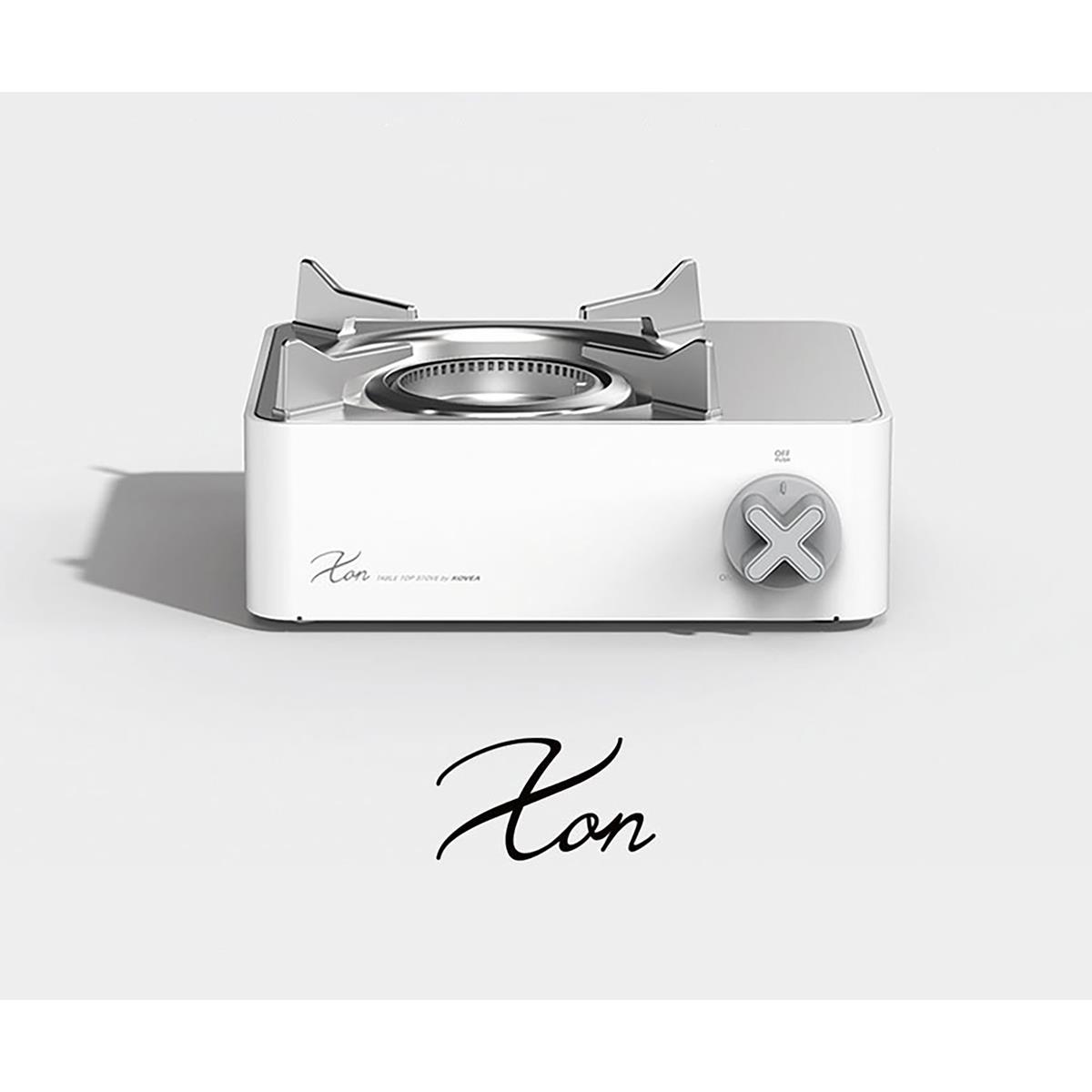 X ON WHITE
