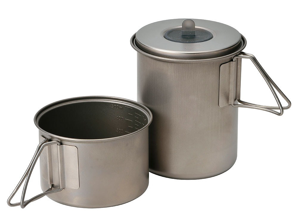 MINI SOLO COOK SET TITANIUM