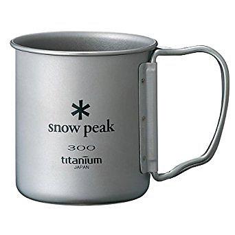 TITANIUM SINGLEWALL CUP 300ML (BIG FONT)