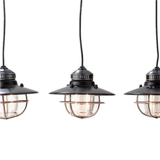 BAREBONES EDISON STRING LIGHTS ANTIQUE BRONZE