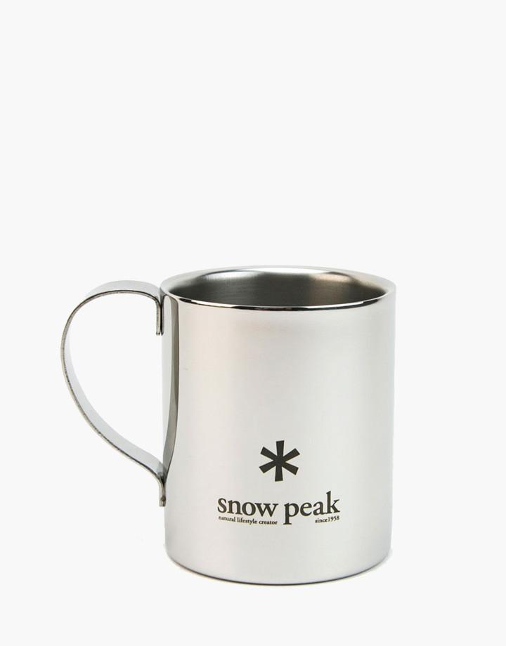 STAINLESS DOUBLEWALL 330ML MUG