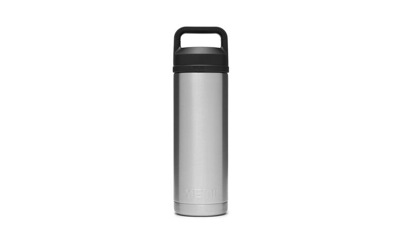 RAMBLER 18OZ BOTTLE WITH CHUG STAINLESS STEEL