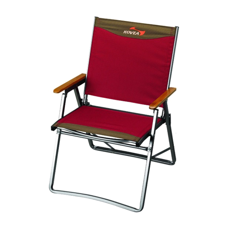 TITAN FLAT CHAIR L [OLIVE, BURGUNDY]